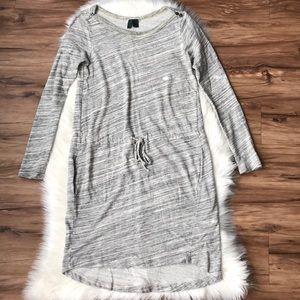 Anthro Left Of Center Sweatshirt Dress